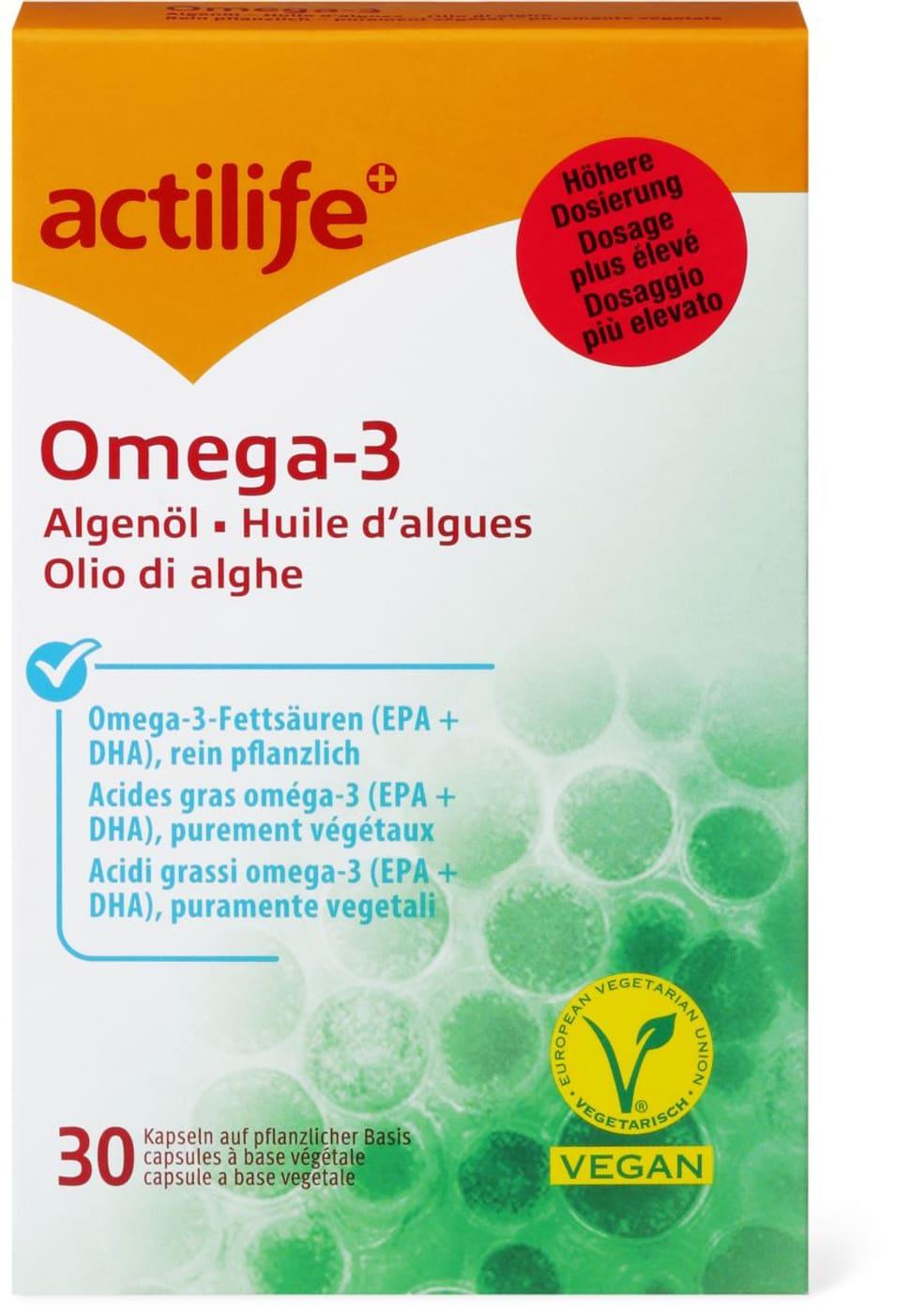 actilife omega 3 algen l migros. Black Bedroom Furniture Sets. Home Design Ideas
