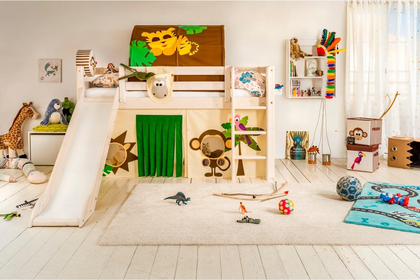 halbhochbett flexa classic migros. Black Bedroom Furniture Sets. Home Design Ideas