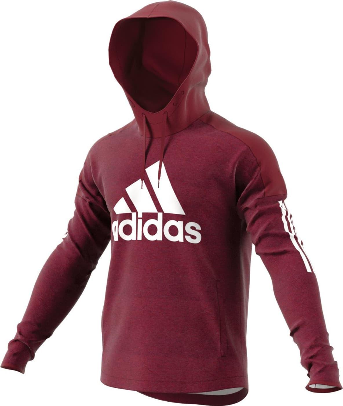 felpa hoodie uomo con cappuccio adidas