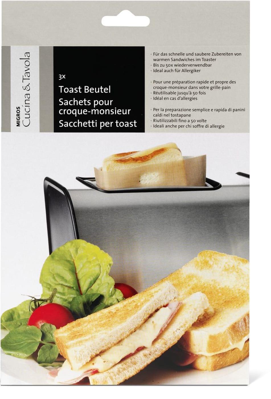 Cucina tavola cucina tavola sachets pour croque for Tavola cucina