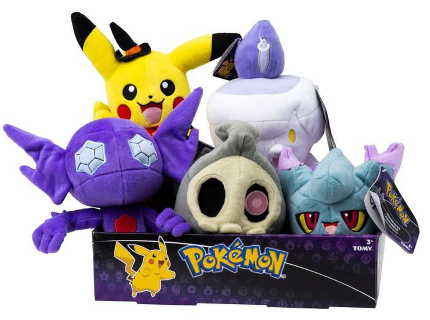 Halloween plüschfigur pokémon fisico box migros