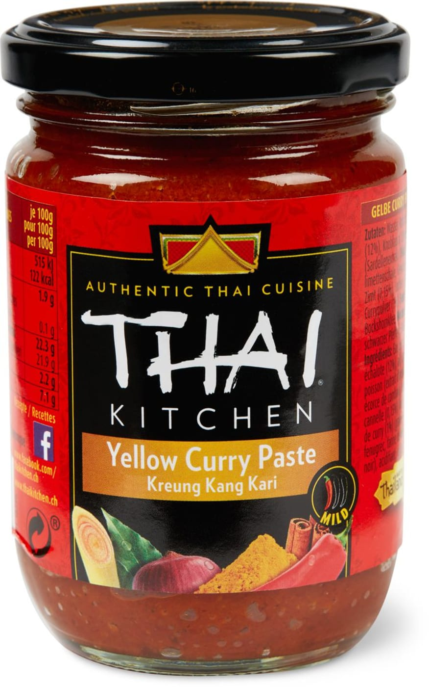 thai kitchen gelbe curry paste migros