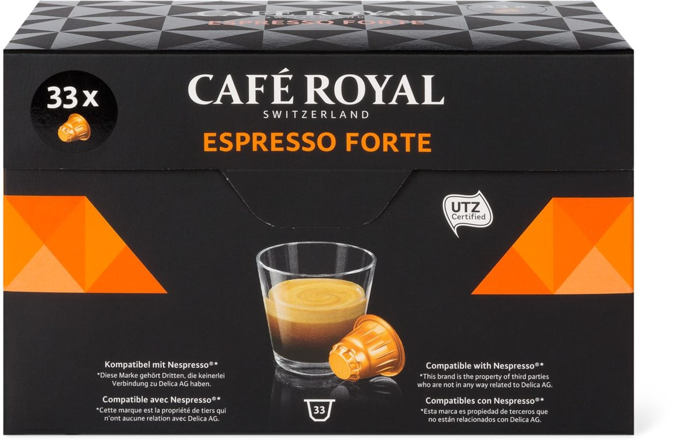 Café Royal Espresso Forte 33 Kapseln