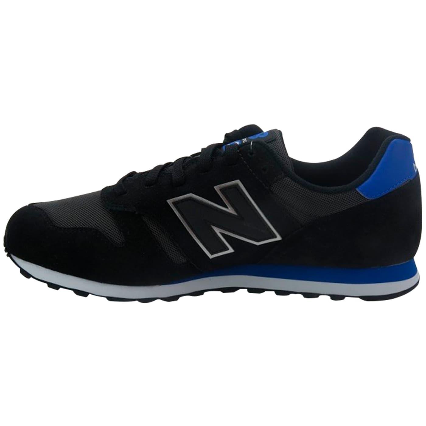 new balance 373 uomo nero