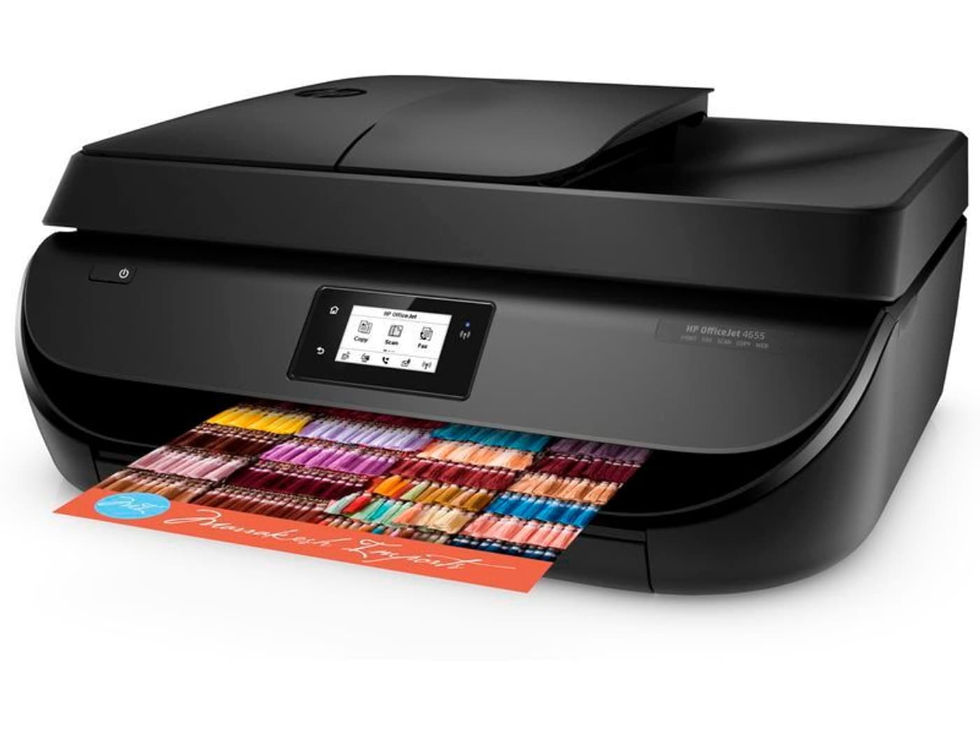 hp officejet 4656 aio drucker scanner kopierer fax. Black Bedroom Furniture Sets. Home Design Ideas