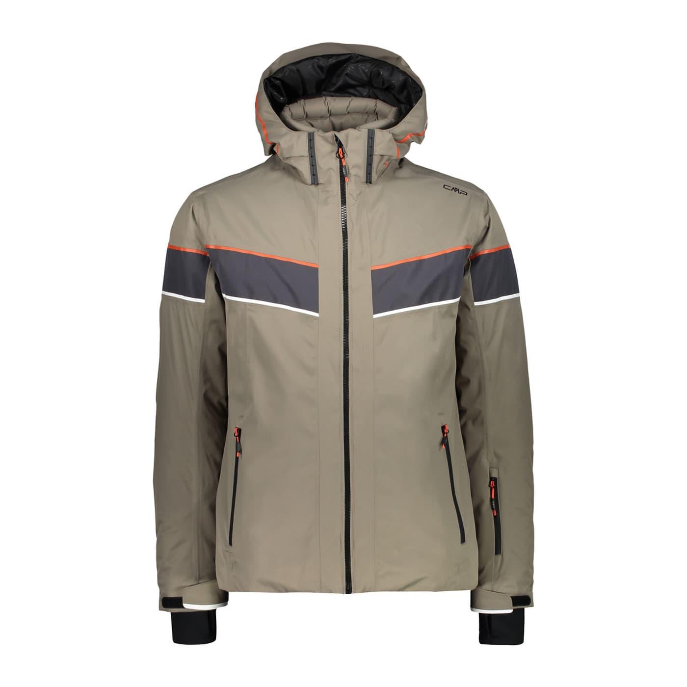 CMP HERREN SKIJACKE Winterjacke Jacke Kapuze Zip Hood Jacket