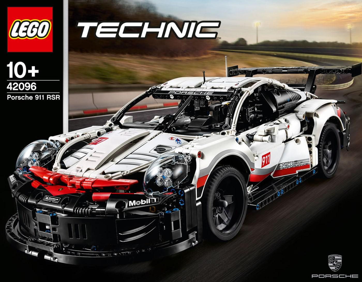 lego technic porsche 911 rsr 42096 migros. Black Bedroom Furniture Sets. Home Design Ideas