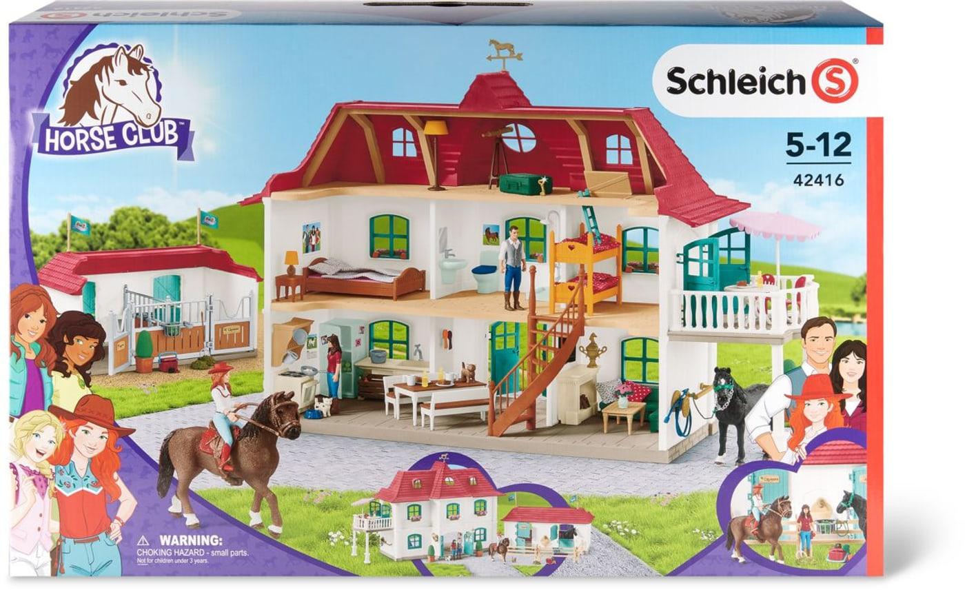 Schleich 42416 Großer Pferdehof mit Wohnhaus und Stall Action- & Spielfiguren