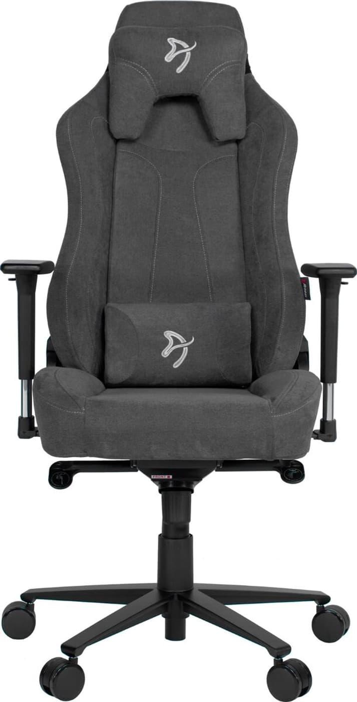 Arozzi Arozzi Vernazza Soft Fabric Gaming Chair Grau Gaming Stuhl Migros