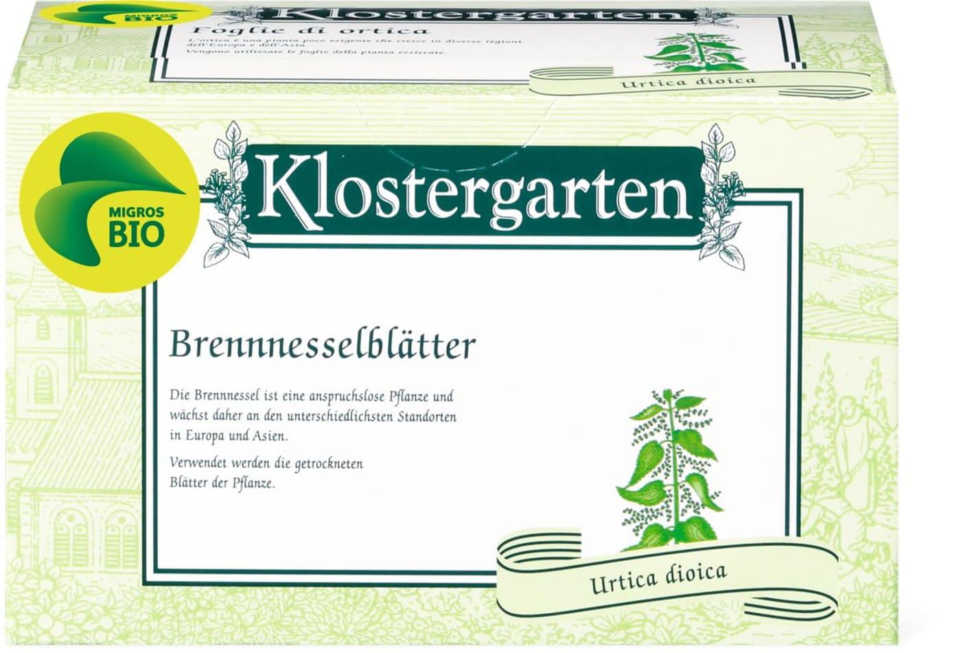 Bio Klostergarten Feuilles D Ortie Migros