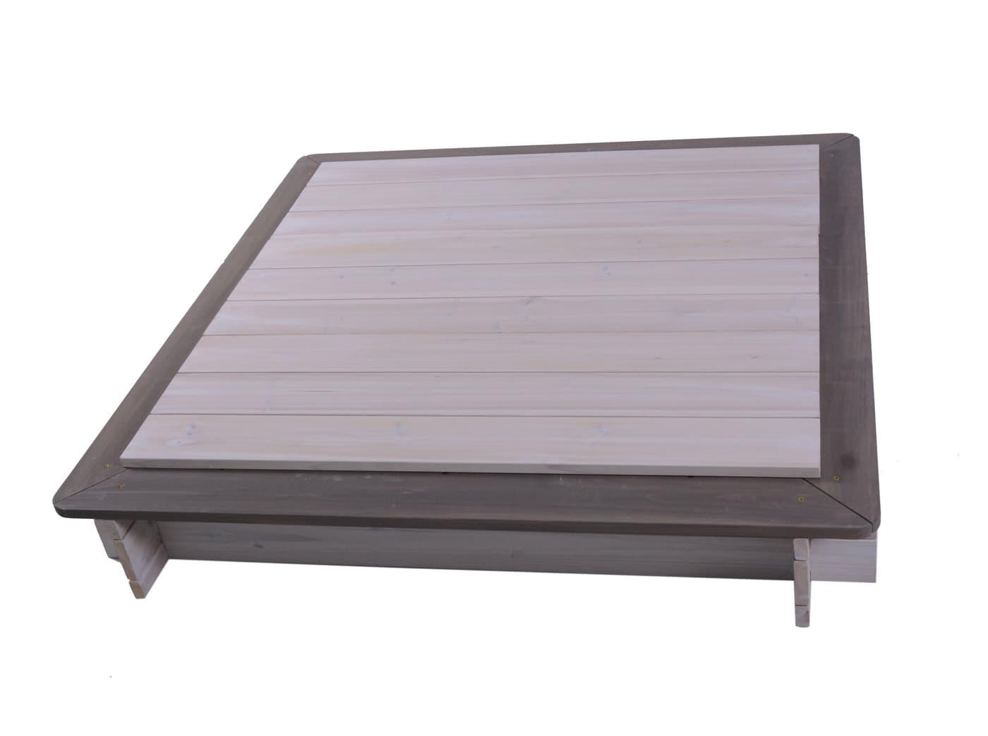 Sandkasten viereckig mit Deckel | Migros