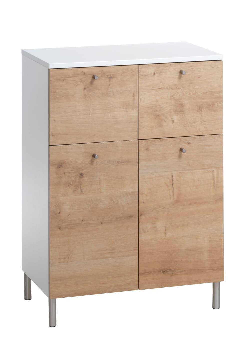 Samu meuble d 39 appoint migros - Meuble d appoint pour salle de bain gris ...