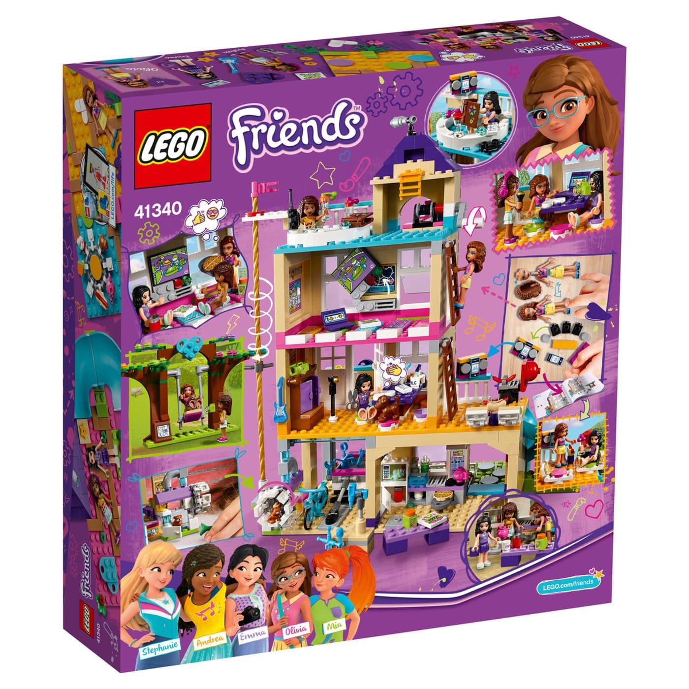 Lego Friends La Maison De L Amitie 41340 Migros