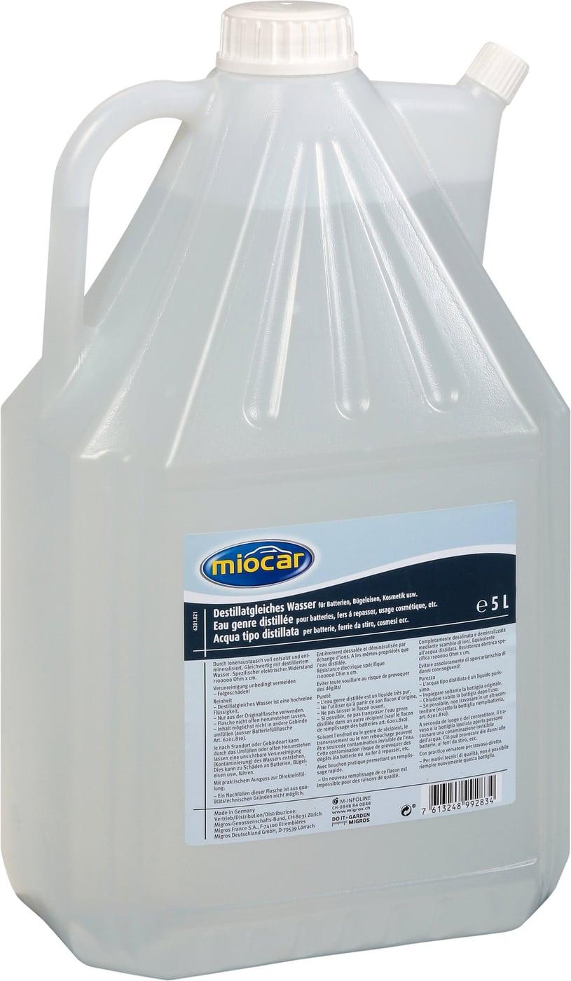 Miocar Destillatgleiches Wasser 5l Migros