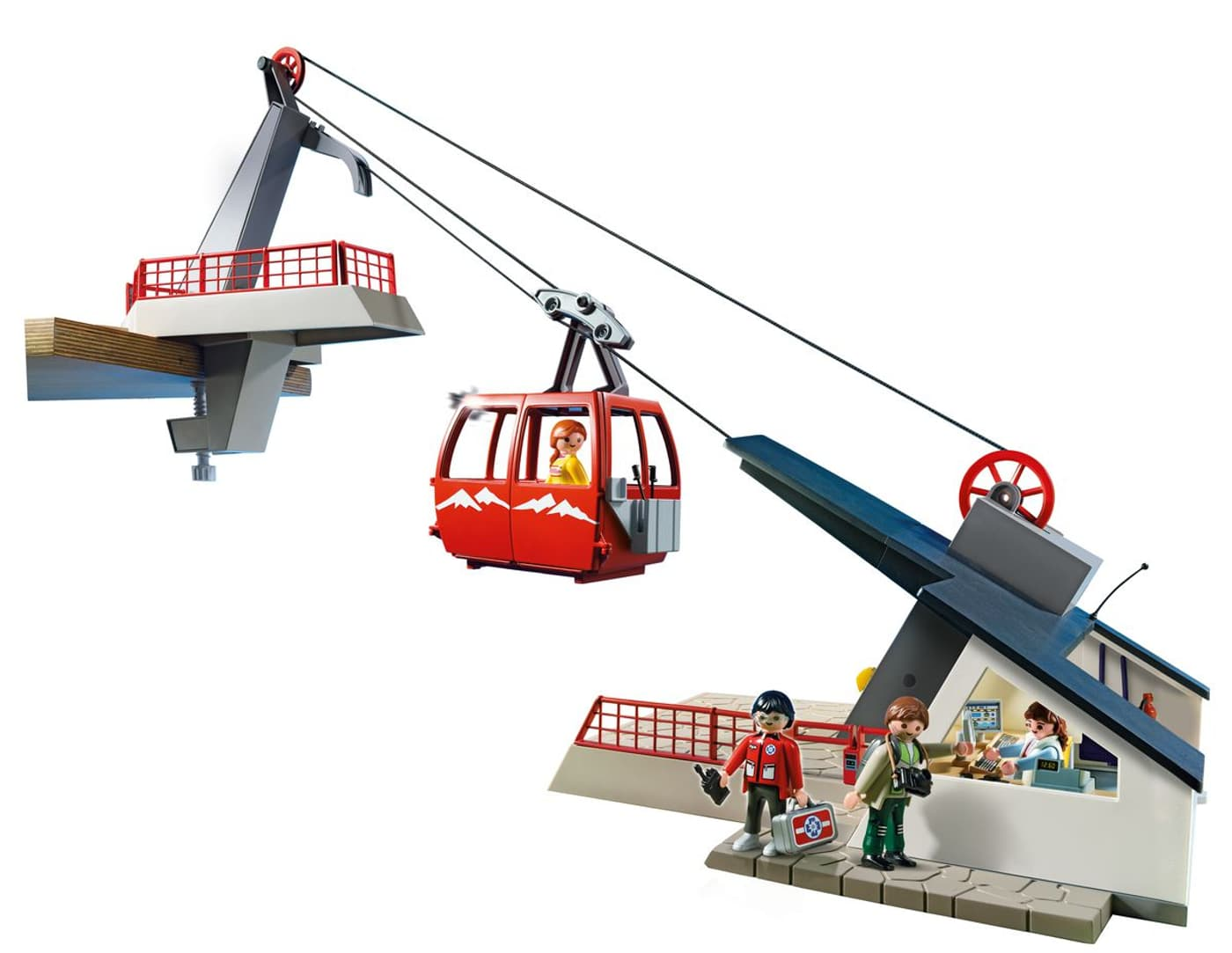 playmobil country seilbahn mit bergstation 5426 migros. Black Bedroom Furniture Sets. Home Design Ideas