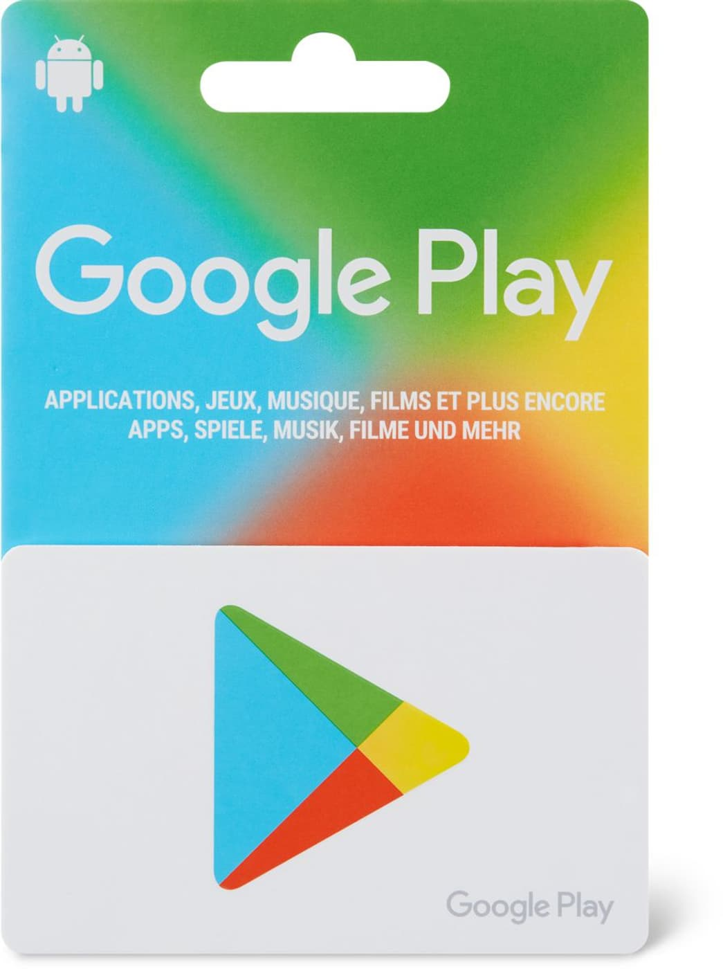 Playstore Karte.Google Play Store Variabel Migros