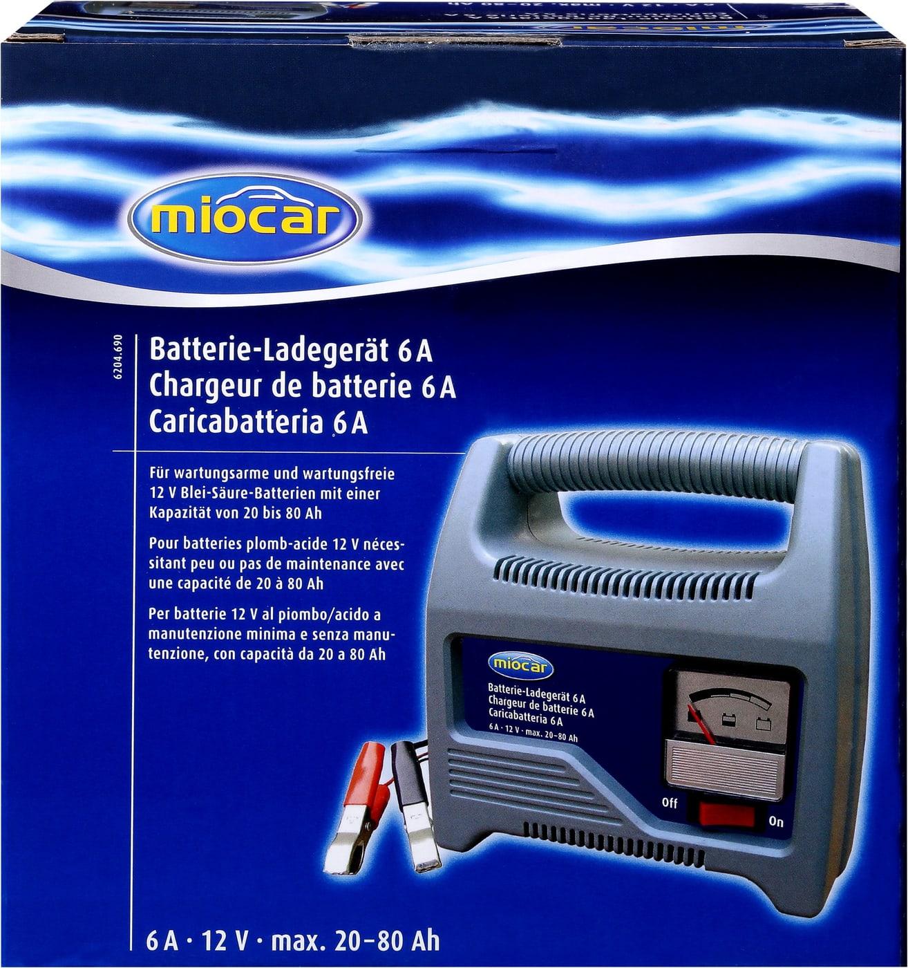 miocar batterie ladeger t 12v 6a migros. Black Bedroom Furniture Sets. Home Design Ideas
