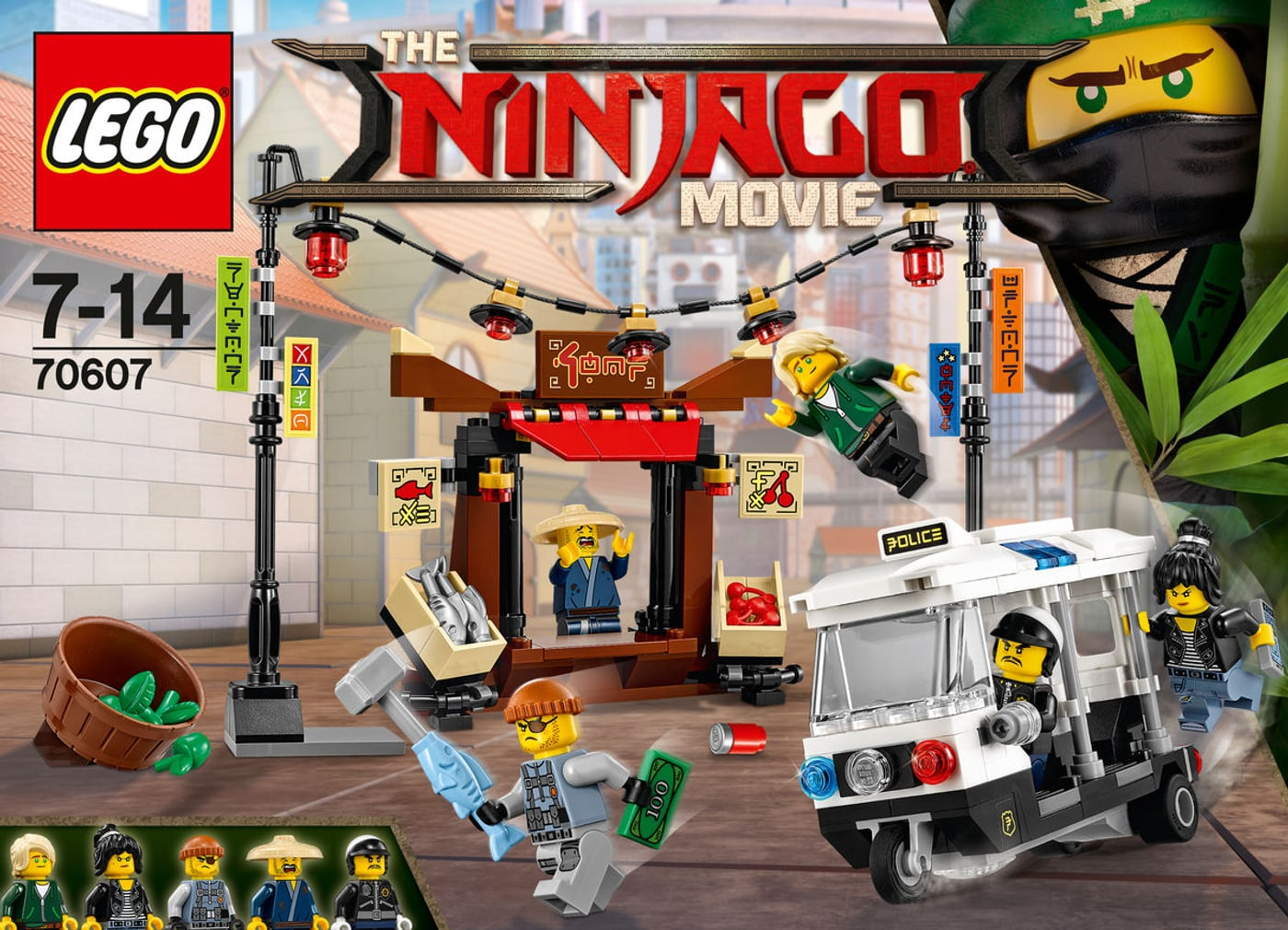 Lego ninjago verfolgungsjagd in ninjago city 70607 migros - Lego ninjago d or ...