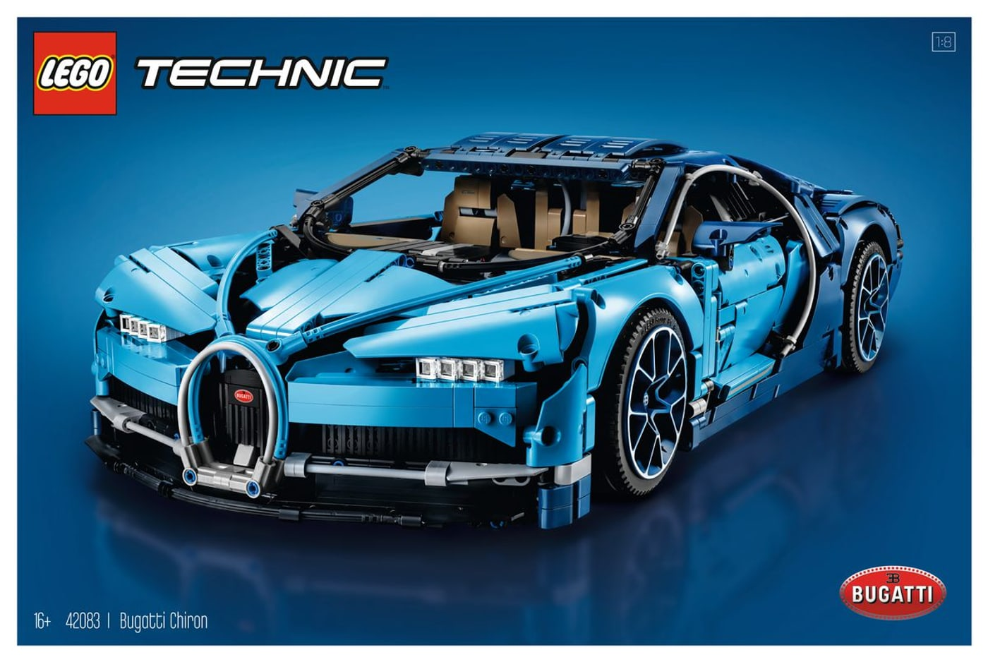 lego technic bugatti chiron 42083 migros. Black Bedroom Furniture Sets. Home Design Ideas
