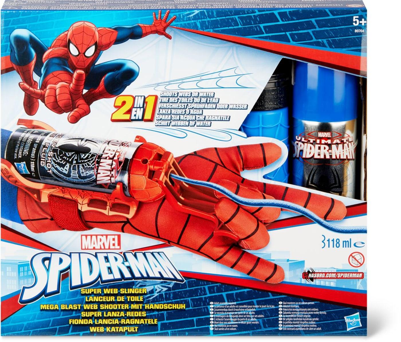 Spider-Man Mega Blast Web Shooter mit Handschuh | Migros
