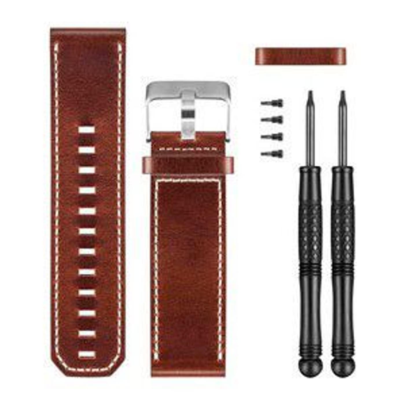 Garmin Fenix 3 Leder Braun Armband Migros