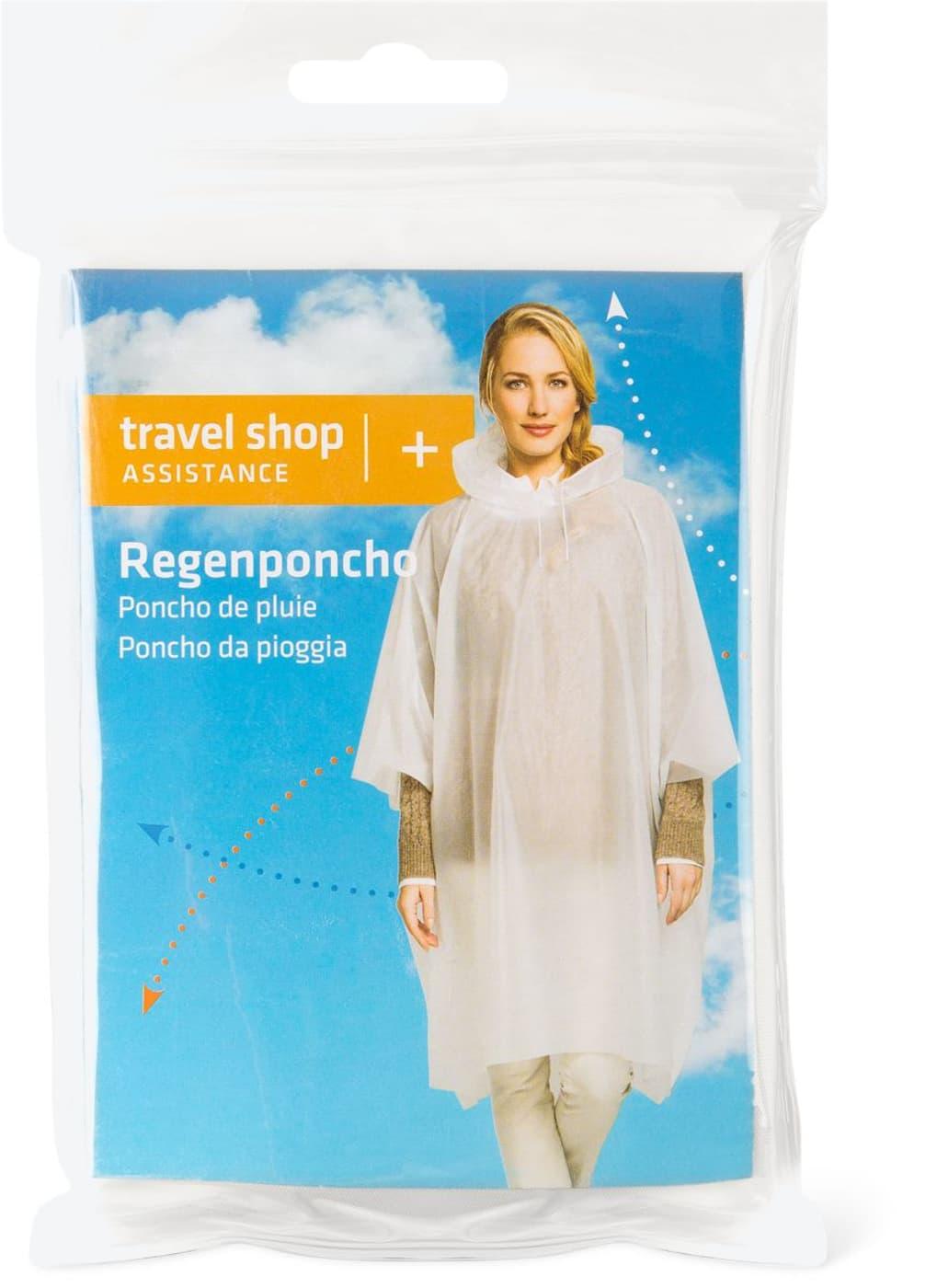 regenponcho weiß