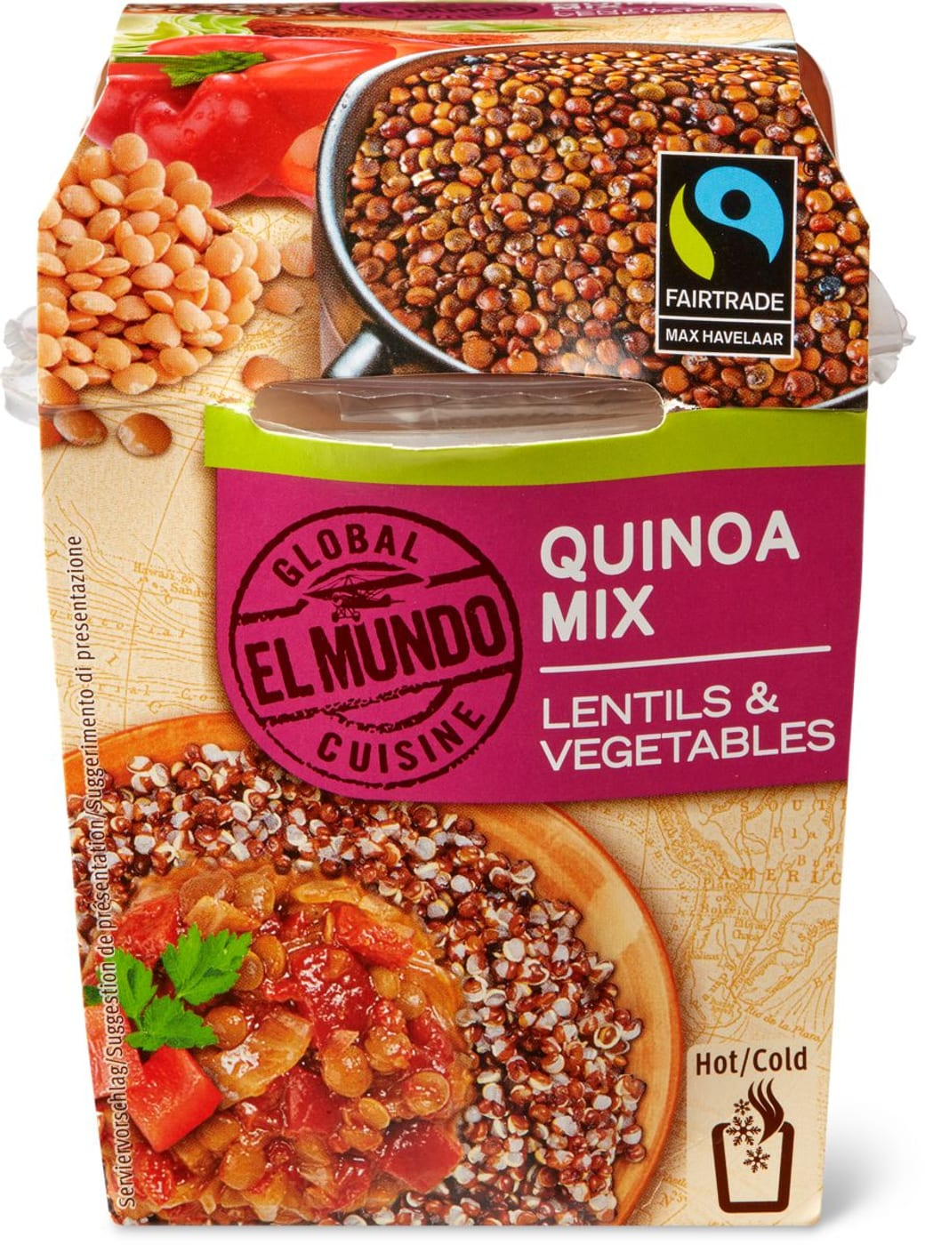 el mundo max hav quinoa mix lentils migros. Black Bedroom Furniture Sets. Home Design Ideas