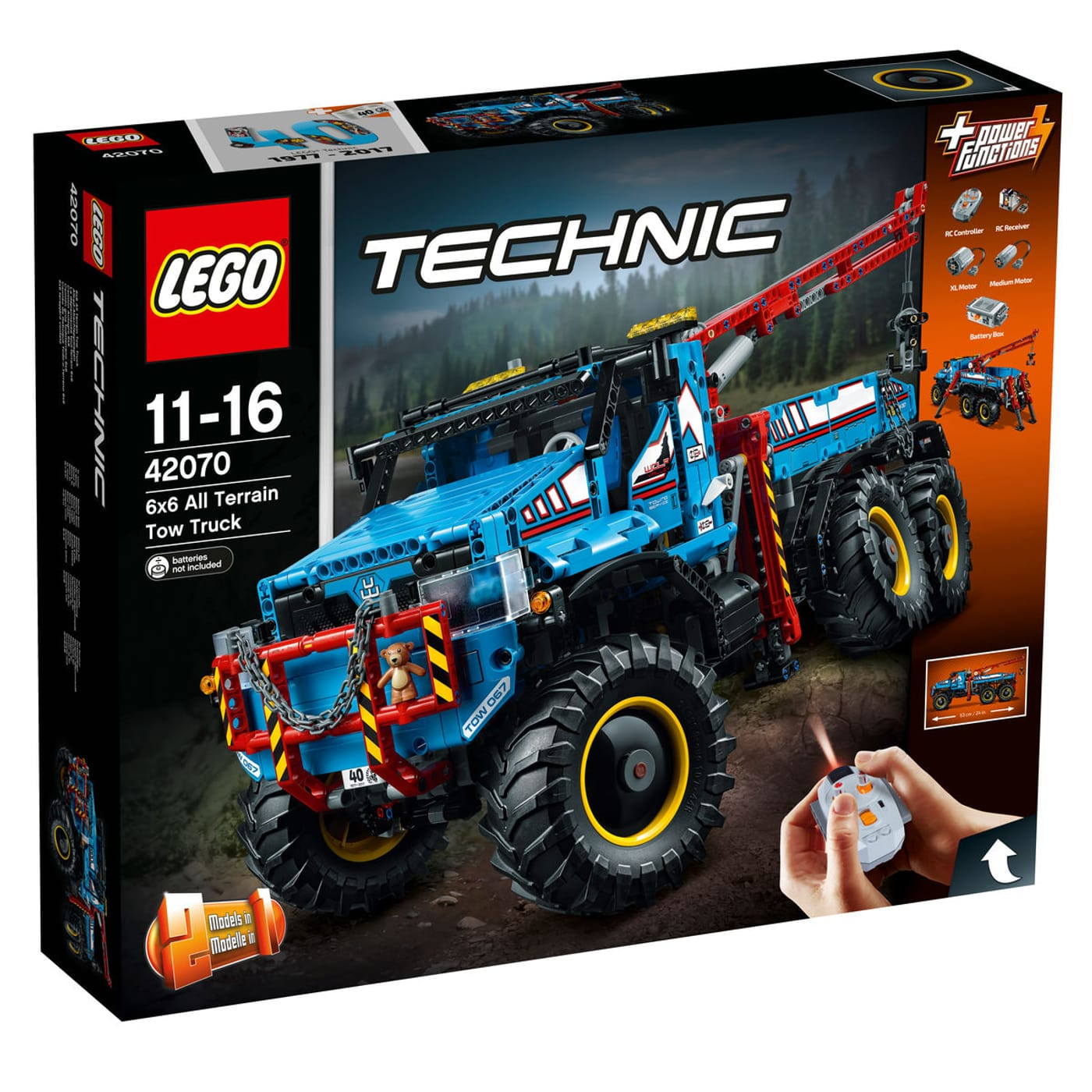 lego technic la d panneuse tout terrain 6x6 42070 migros. Black Bedroom Furniture Sets. Home Design Ideas