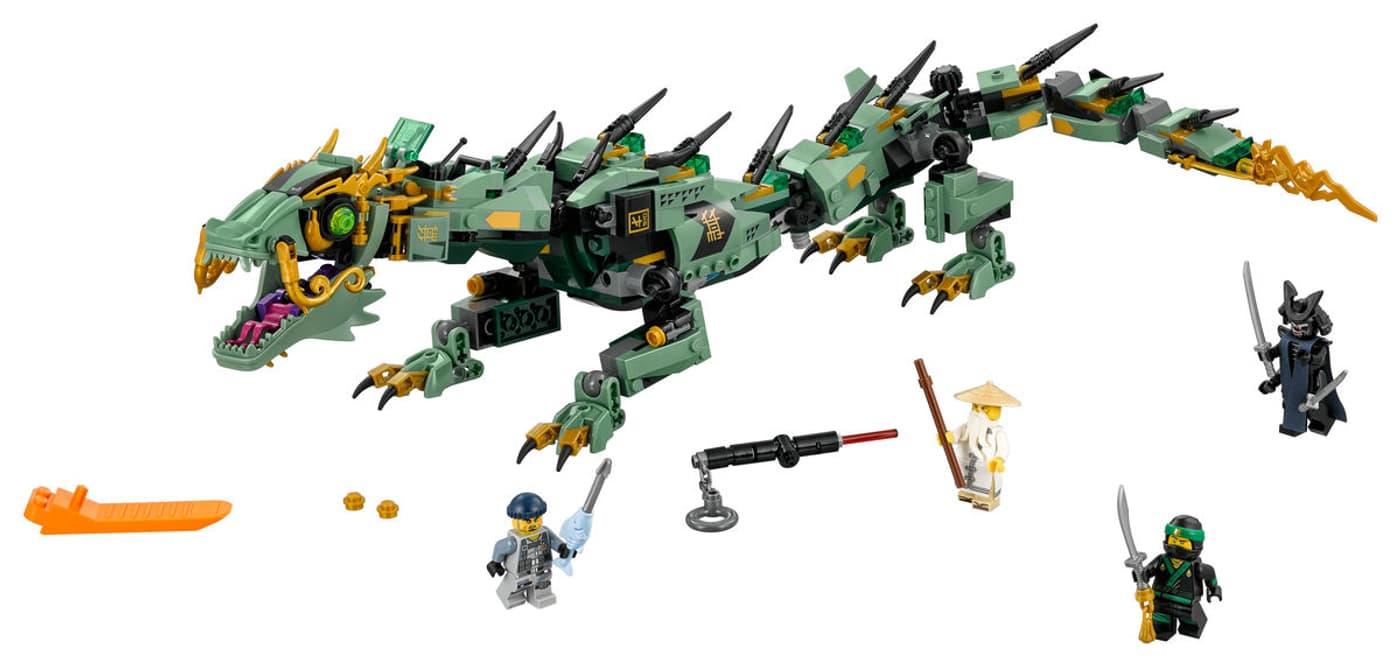 70612 Ninjago Le Dragon De Lego Lloyd D'acier W2DIHYE9