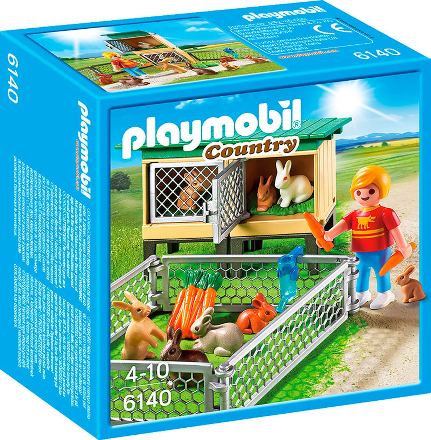 playmobil country hasenstall mit freigehege 6140 migros. Black Bedroom Furniture Sets. Home Design Ideas
