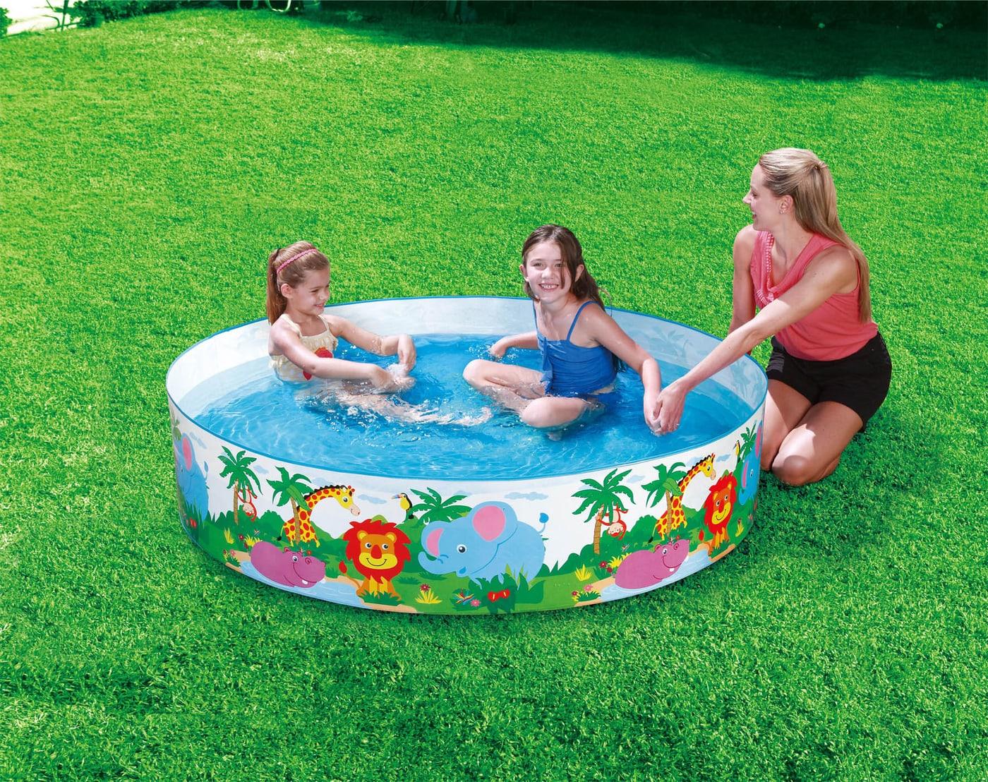 Summer Waves Quick Set Pool Safari