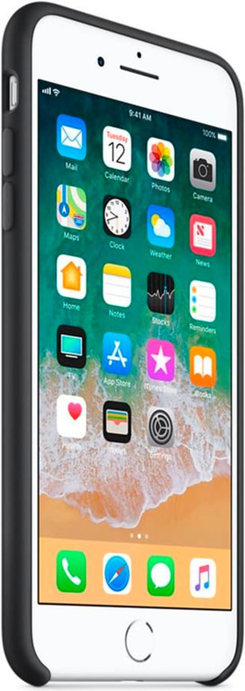 Apple iPhone 8 plus & 7 plus Silicon Case bianco Custodia Migros