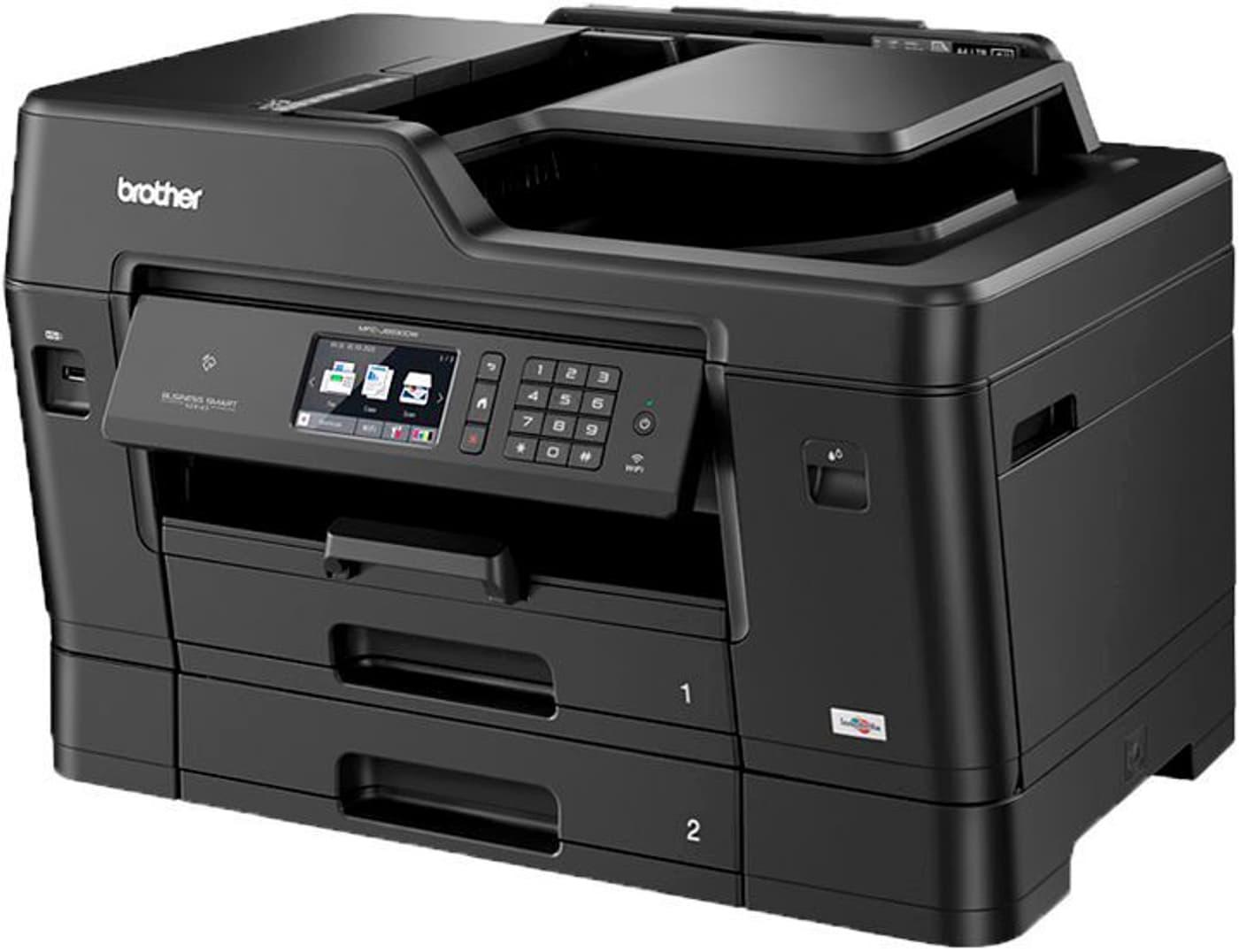 Brother mfc j6930dw a3 drucker scanner kopierer fax for Drucker scanner kopierer