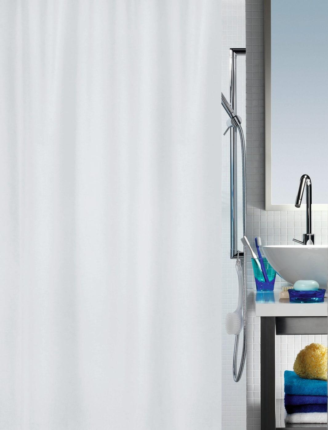 spirella duschvorhang primo 180 x 200cm migros. Black Bedroom Furniture Sets. Home Design Ideas