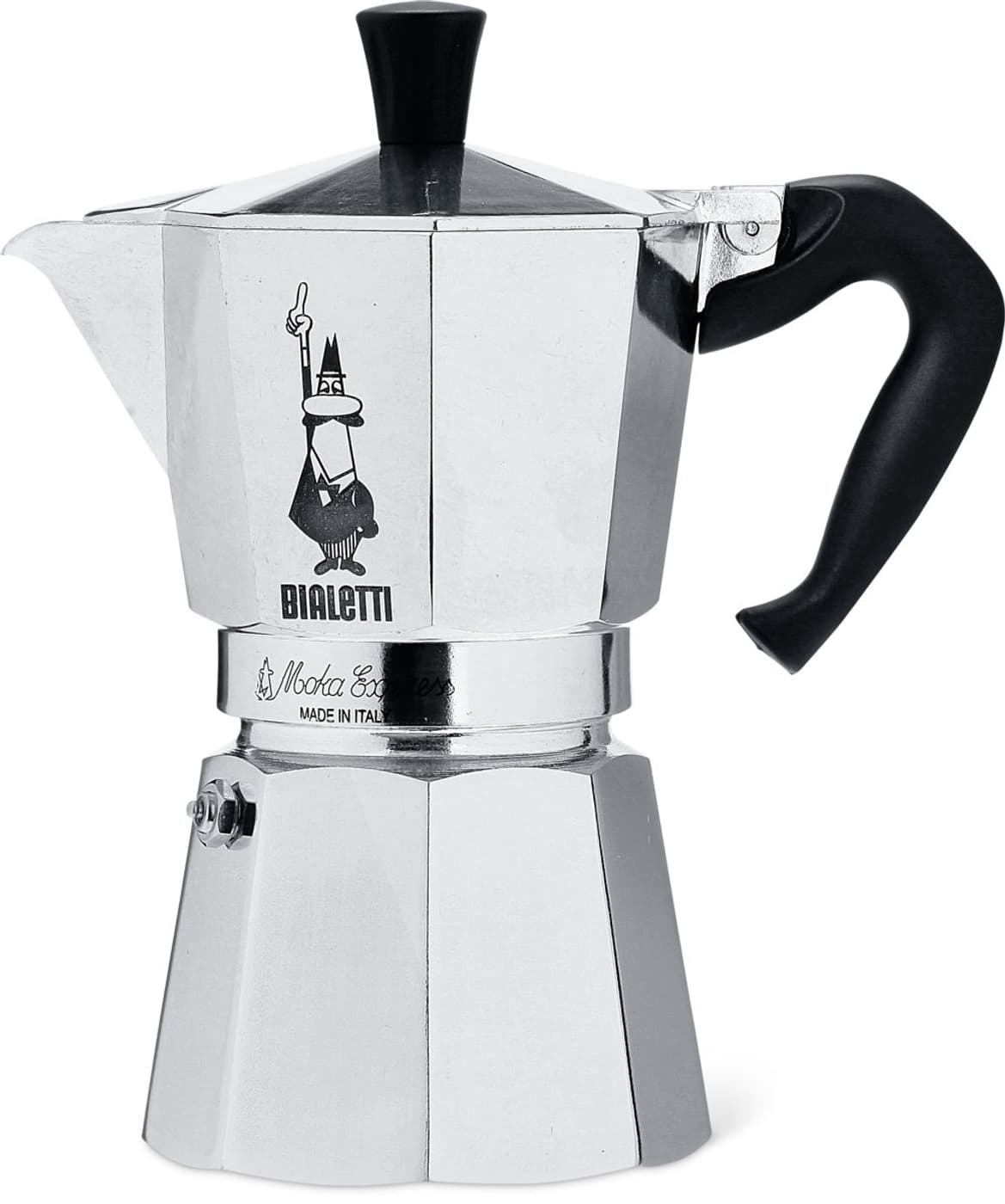 bialetti machine caf bialetti argent migros. Black Bedroom Furniture Sets. Home Design Ideas