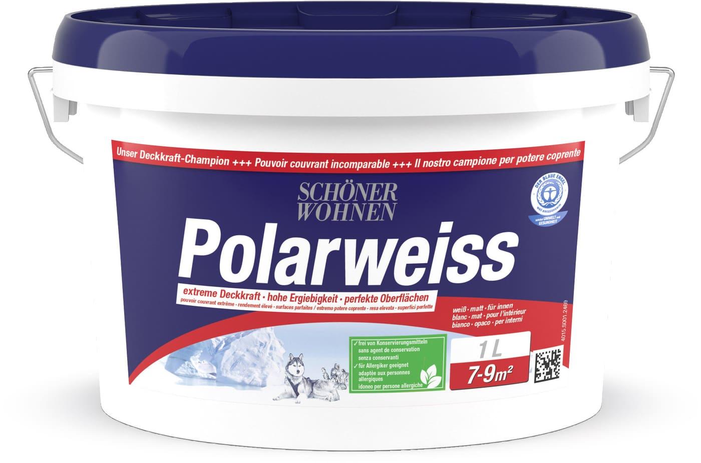 Schoner Wohnen Dispersion Polarweiss Weiss 1 L Migros