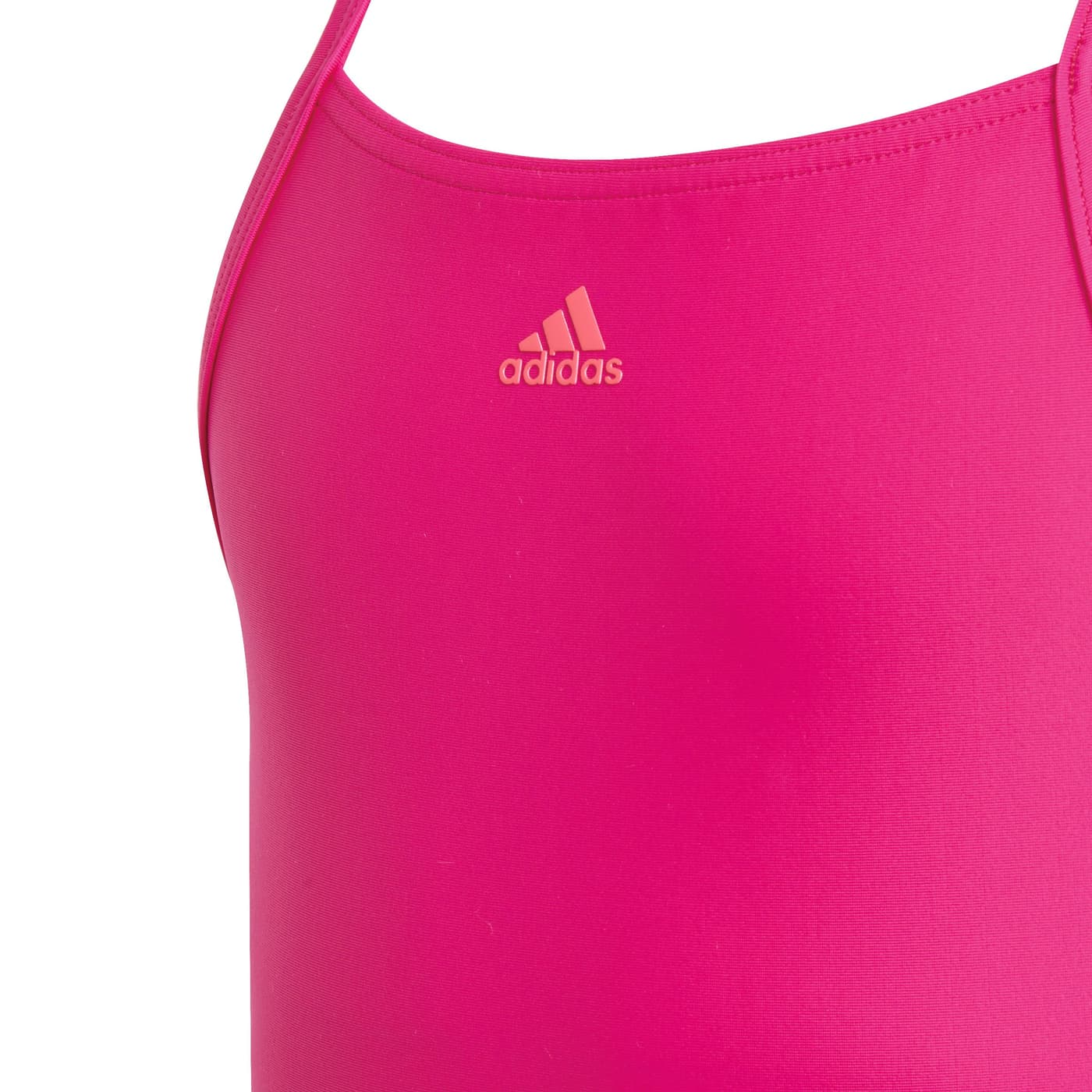 Adidas fitness training suit colorblock 3 stripes Mädchen Badeanzug