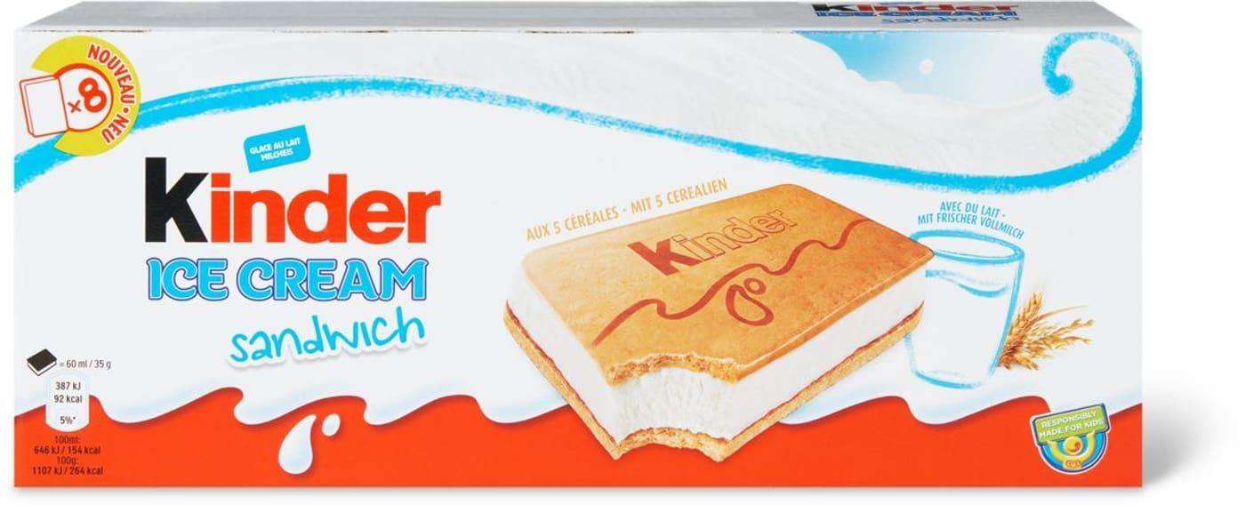 Kinder Ice Cream Sandwich Migros