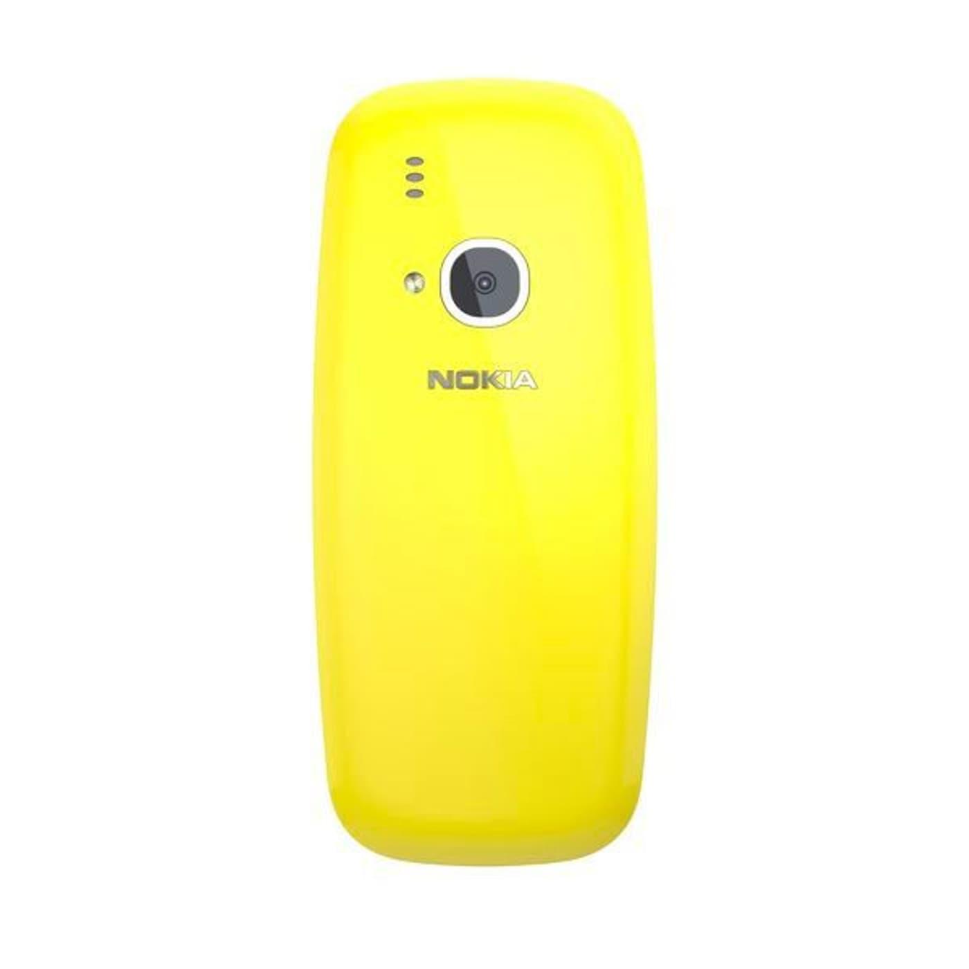 nokia 3310 t lephone mobile jaune migros. Black Bedroom Furniture Sets. Home Design Ideas