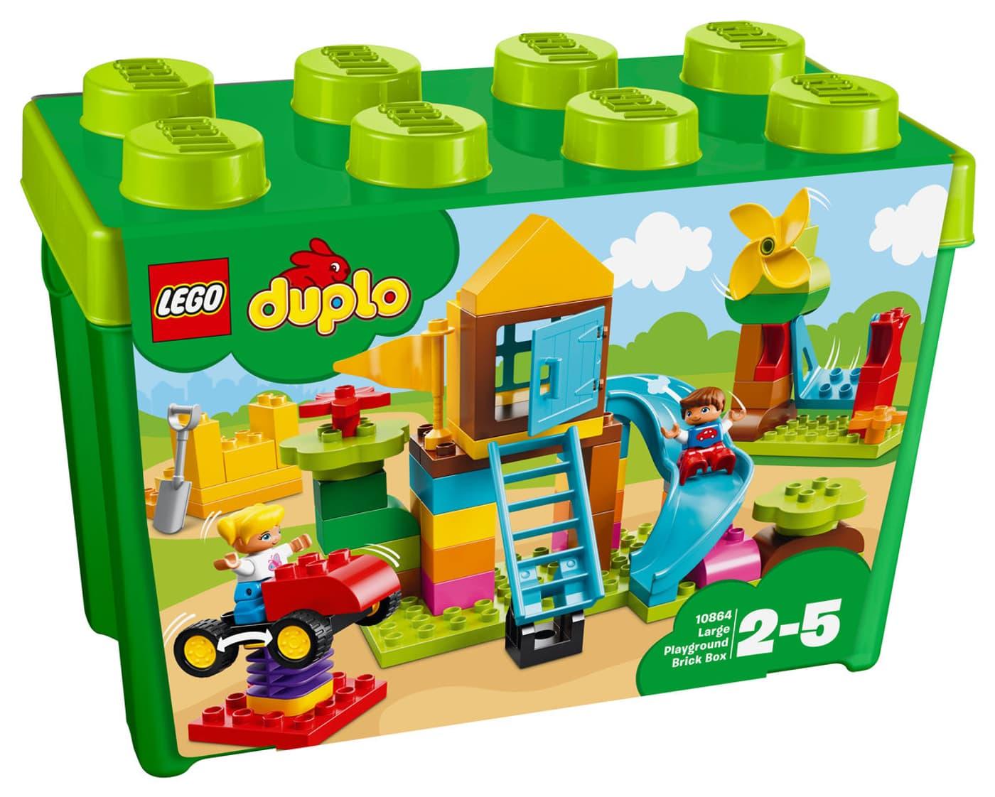 Calendrier Avent Duplo.Lego Duplo 10864 Boite Terrain De Jeu