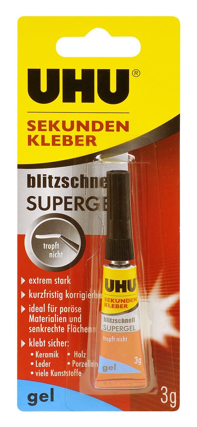 Uhu Colle Instantanée Ultra Rapide Super Gel