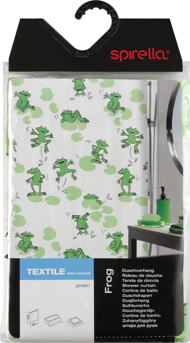 spirella duschvorhang frog migros. Black Bedroom Furniture Sets. Home Design Ideas