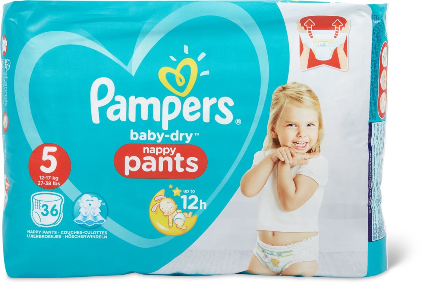 Pampers Baby Dry Pants 5 Migros