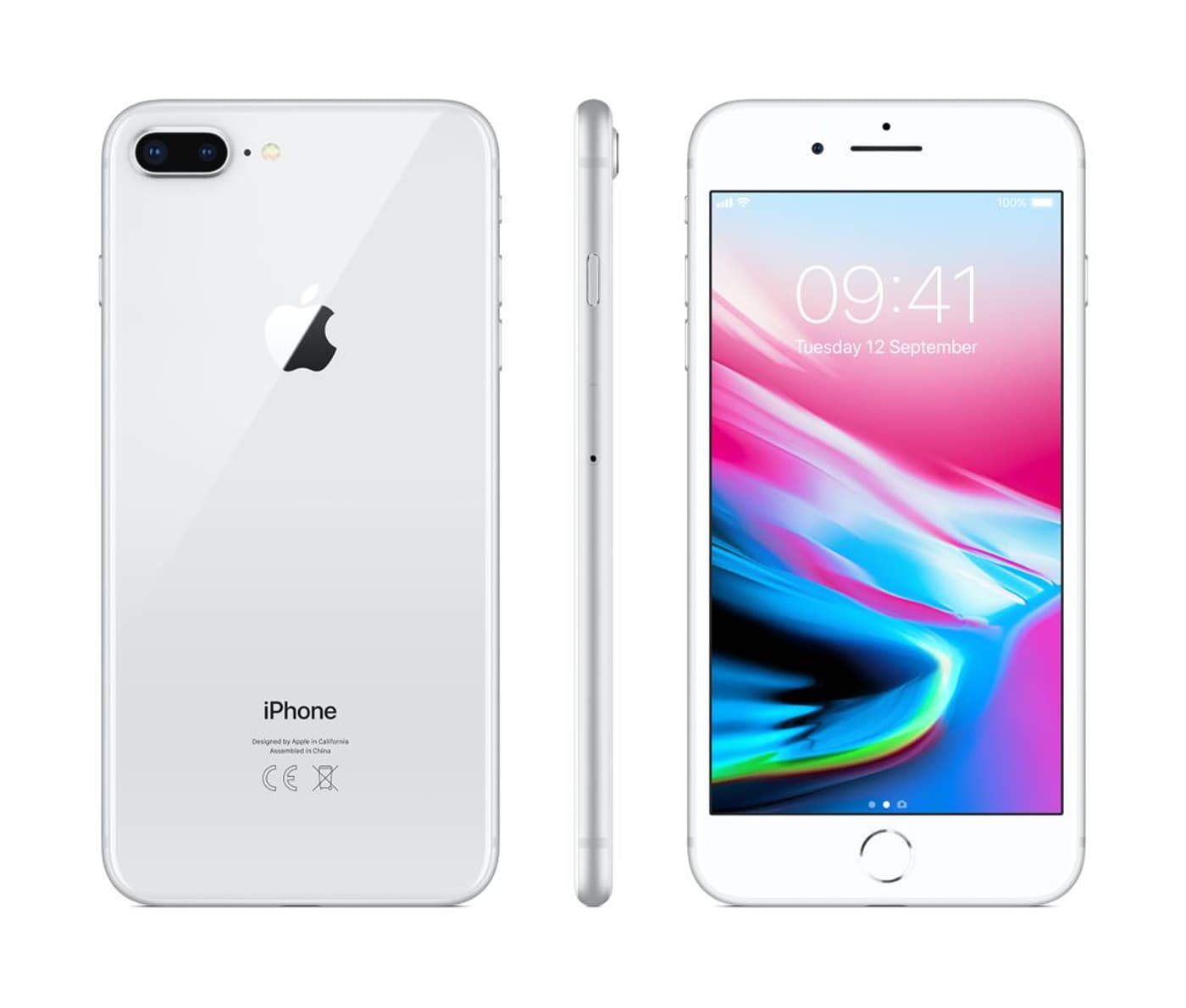 apple iphone 8 plus 256gb silber smartphone migros. Black Bedroom Furniture Sets. Home Design Ideas