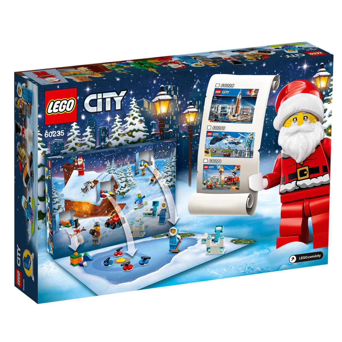 Calendrier City.Migros Calendrier De L Avent Lego City