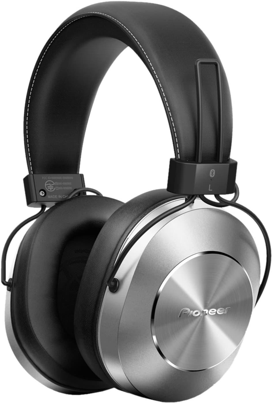 Pioneer SE-MS7BT-S Hi-Res Bluetooth Cuffia Over-Ear argento cuffie ... 34e561f45c21