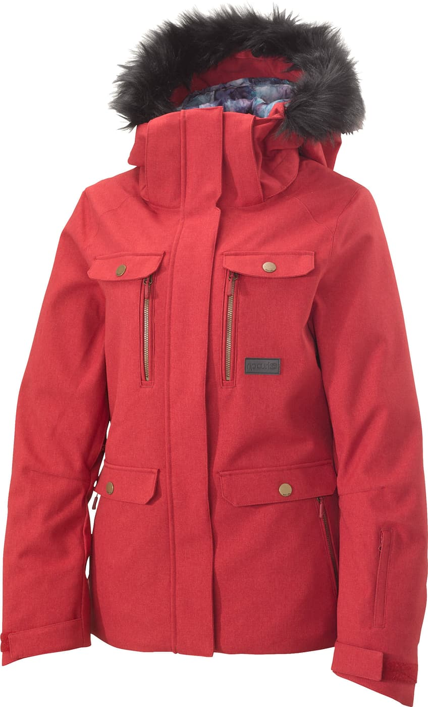 RIP CURL Damen Snowboard Jacke Chic Fancy Jacket: