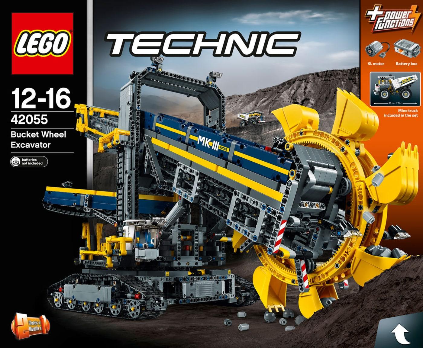 lego technic schaufelradbagger 42055 migros. Black Bedroom Furniture Sets. Home Design Ideas