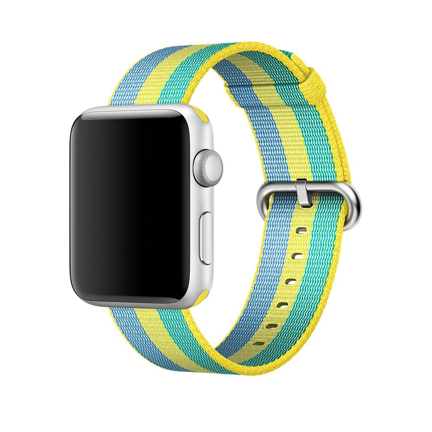 ... Apple 42mm nylon intrecciato giallo limone Cinturini ... 9a094e8dde0