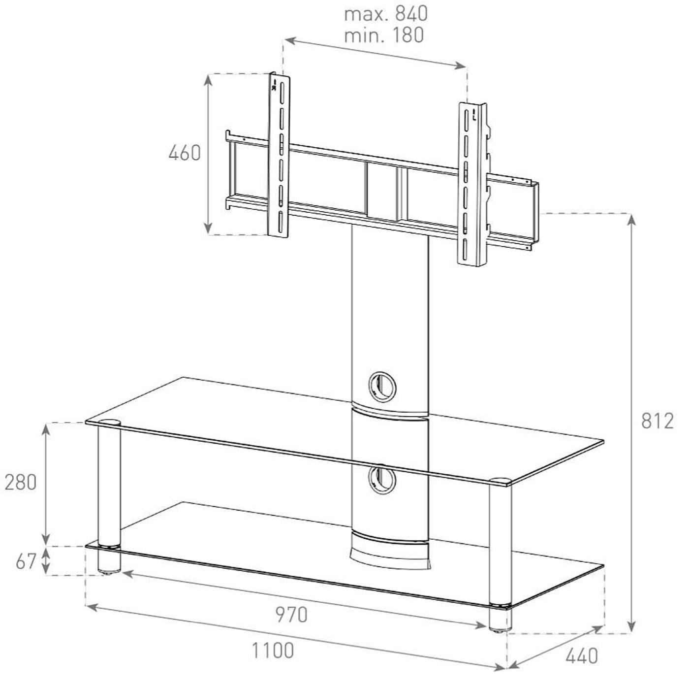 sonorous neo110 tv m bel migros. Black Bedroom Furniture Sets. Home Design Ideas